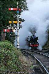 "LNER Class A3: 60103 ""Flying Scotsman"" (AndyLock) Tags: svr severnvalleyrailway pacificpowerevent steamtrain steam railway lnerclassa3 4472 flyingscotsman bewdleysouthbox bewdley lightengine kidderminster 60103"
