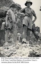 KhDMRT rock climbing Little Aden (RAFMRA) Tags: crater erde mountainre