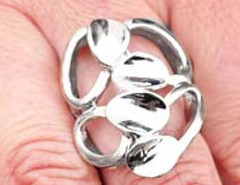 5th Avenue Silver Ring K2 P4141A-5