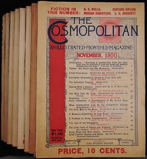 Cosmopolitan Magazines (Nov., 1900 - June, 1901). H. G. Wells'