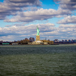 Statue of Liberty - View from Staten Island Ferry