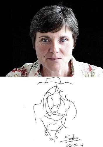 "43-4-arpenteur- Sylvie Brutin • <a style=""font-size:0.8em;"" href=""http://www.flickr.com/photos/12564537@N08/15747284469/"" target=""_blank"">View on Flickr</a>"