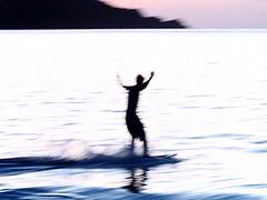 Ghost Skim Boarder (spen2222) Tags: sea surf skimboarder