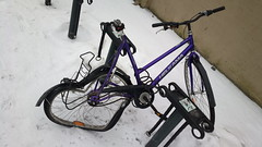 sadbike at the railway station (hugovk) Tags: cameraphone winter station finland nokia helsinki january railway hvk talvi sadbike carlzeiss uusimaa 2015 808 helsingin hugovk geo:country=finland camera:make=nokia pureview exif:flash=offdidnotfire exif:exposure=1100 exif:aperture=24 nokia808pureview exif:orientation=horizontalnormal camera:model=808pureview geo:locality=helsinki uploaded:by=email exif:exposurebias=0 exif:focallength=80mm exif:isospeed=100 geo:region=uusimaa geo:county=helsingin meta:exif=1422892558 sadbikeattherailwaystation