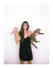 Janelle (mattbellphoto) Tags: polaroid 690 250 kirstie expiredfilm packfilm instantfilm 114mmf45 janellestarrett