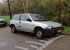 Honda Civic mk3 1.3 Luxe Hondamatic 8-4-1988 TD-94-YG (Fuego 81) Tags: honda 1988 civic mk3 hondamatic sidecode4 td94yg