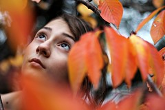 Looking the sky between leaves (giulia.bechi) Tags: italy canon garden photography child magic pisa fairy enchanted fairytales canon1100d
