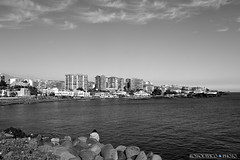 L'Attesa / The Waiting / CT / Sicilia. (rossolavico) Tags: sea sky italy clouds europa europe italia nuvole mare cielo sicily catania sicilia ioniansea lavacoast marionio fileraw rossolavico squatritomassimilianosalvatore filerawnef filerawnefconversionjpeg viewnx2users