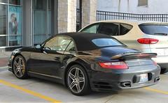 Porsche 911 Turbo Cabriolet (997) (SPV Automotive) Tags: black sports car 911 convertible exotic turbo porsche cabriolet 997