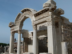 Temple of Hadrian (Toats Master) Tags: archaeology turkey temple ruins historical ephesus