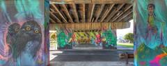 Port Melbourne Skate Park (DaveFlker) Tags: park street art south melbourne skate itch choq ryot
