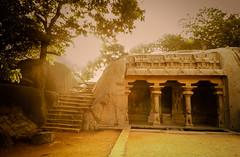 Varaha Cave Temple (Ivon Murugesan) Tags: india heritage monument temple unesco cave chennai tamilnadu pondicherry mahabalipuram mamallapuram cavetemple varaha puducherry varahacavetemple mamallapurammonument