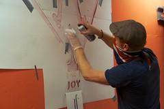 Joy (motveggen) Tags: streetart stencil joy bergen gatekunst streetartbergen