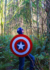 LEGO Captain America's Shield (2:STUDS) Tags: life winter scale america soldier lego steve captain rogers marvel barnes bucky avengers moc sized murica