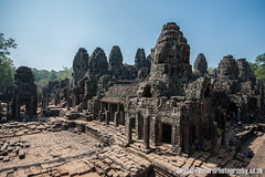 Angkor Wat (GuyBerresfordPhotography.co.uk) Tags: travel trees sun hot tourism rock stone skyline temple asia cambodia southeastasia khmer buddhist ruin roots sunny angkorwat tourist heat restored blocks siemreap taprohm hindu ta tombraider sculptures banyan indianajones bayon slabs angkorthom tasom prohm raidersofthelostark hundu