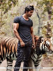 Model John (www.rajeshsinghrathore.com) Tags: park trees forest john photo model shoot body sony tiger chain jungle alpha fitness slt