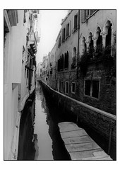 Venezia verticale - FP4 - MGFB 18x24cm (renus73) Tags: film analog darkroom print fiber ilford fp4 baritata