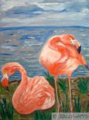 23 - Les Flamingos