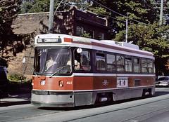 TTC 4162, Toronto, September 18, 1989 (railfan 44) Tags: toronto ttc transit streetcar