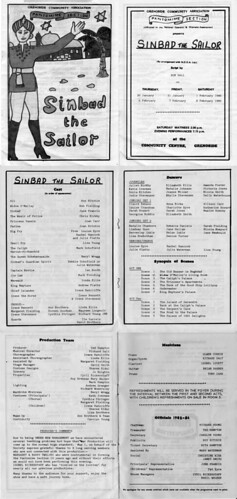1986 Sinbad the Sailor 00 Programme