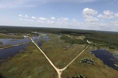 Day 2 - Forsythe National Wildlife Refuge Flyover (U. S. Fish and Wildlife Service - Northeast Region) Tags: newjersey helicopter saltmarsh ebforsythenwr coastalresilience hurricanesandy hurricanesandyrecovery hurricanesandyfws