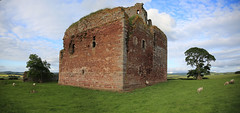 Cessford Castle (9) (arjayempee) Tags: castle scotland fortification middlemarch towerhouse cheviots jedburgh scottishborders roxburghshire kalewater cessfordcastle av6a384243stitch