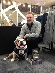 """Just caught up w/ author @EricAngevine who is signing copies of his new book at @HinkleFH tonight. • <a style=""""font-size:0.8em;"""" href=""""http://www.flickr.com/photos/73758397@N07/16520476530/"""" target=""""_blank"""">View on Flickr</a>"""