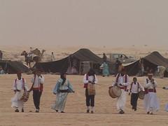 Performance Troupe at Sahara Desert Festival Douz