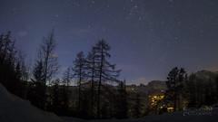 La Tzoumaz sous les étoiles (m4rtinovic) Tags: longexposure nightphotography light night stars schweiz switzerland exposure suisse sony wideangle fisheye ciel nightlight 28 a7 étoiles valais verbier tzoumaz zenitar16 sonya7