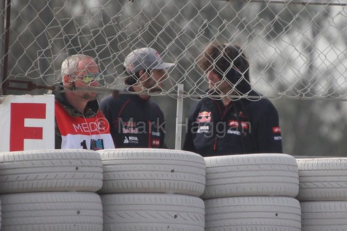 Carlos Sainz at F1 Winter Testing 2015