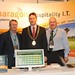 Showtel Anslem Molloy and James Ormonde, Paragon and Stephen McNally, IHF President