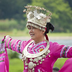 "Woman wearing traditional Miao clothes • <a style=""font-size:0.8em;"" href=""http://www.flickr.com/photos/28211982@N07/16608369281/"" target=""_blank"">View on Flickr</a>"