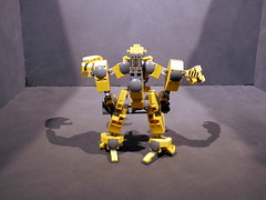 Longshoreman update-001 (Canis Arms Corporation) Tags: lego mecha battletech moc industrialmech