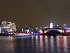 P1640050  River Thames by Night, London, February 2015 (autumngold2) Tags: london londonbynight southbank riverthames february2015