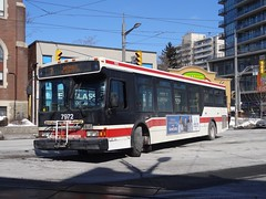 Toronto Transit Commission 7972 on 7 Bathurst (Orion V) Tags: ttc
