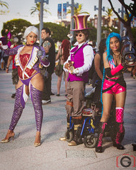 Anime Expo 2014 - Day 2 (Darc G) Tags: costume cosplay ivy convention jinx caitlyn soulcalibur leagueoflegends laanimeexpo