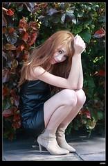 nEO_IMG_DP1U8736 (c0466art) Tags: light portrait sexy beautiful canon hair nice pretty outdoor gorgeous taiwan lips showgirl figure attractive charming gloden 1dx oringinal c0466art