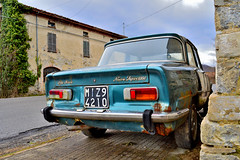 alfa romeo giulia nuova super 1300 (riccardo nassisi) Tags: auto abandoned car rusty super alfa romeo wreck scrap piacenza giulia ruggine 1300 rottame abbandonata farini