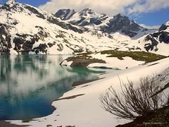 Schöner Lünersee (almresi1) Tags: schnee lake snow mountains austria österreich paradise alpen bergsee vorarlberg lünersee brandnertal