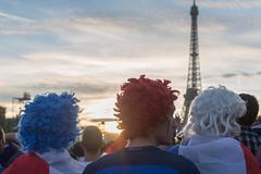FanZone Paris Tour Eiffel: Portugal vs France (mahtieuc) Tags: paris france football ledefrance champdemars fr fanzone euro2016