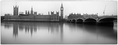 Parliament v2 (G&R) Tags: london houses parliament thames westminster canon 5d3 long exposure silver efex