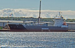 Cathy Jo (CW) (Kay Bea Chisholm) Tags: ship vessel birkenhead curacao wagenborg dukestbridge generalcargo cathyjo westfloatdock