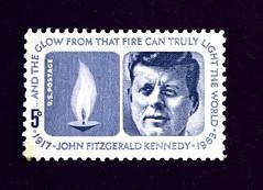 DSC_8390 (heo1013) Tags: john fitzgerald kennedy president postage stamp jfk usa democrat election assassination