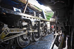 Great Central Railway Loughborough Leicestershire 10th July 2016 (loose_grip_99) Tags: train leicestershire wheels engine july railway trains steam transportation locomotive railways loughborough preservation 280 260 lms greatcentral 2016 8f ivatt stanier uksteam 46521 48624 gassteam