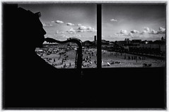 Beneath The City, Two Hearts Beat... (Mark ~ JerseyStyle Photography) Tags: bw musician asburypark sax 2016 markkrajnak jerseystylephotography july2016 zacksandler