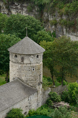 tower Russian Gate (intui.pro) Tags: old roof plant building tower history tourism stone museum architecture landscape town ruins outdoor stones citadel stonework text towers reserve ukraine temples walls bastion stronghold fortress palaces fastness strengthening kamianetspodilskyi