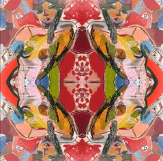 2016-07-11 symmetrical modern nudes 1 (april-mo) Tags: symmetry symmetrical symtrie symtrique art nu nude woman womanportrait portrait flipping mirror experimentaltechnique experimental colors multicolored
