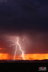 (No Stone Unturned Photography) Tags: arizona monsoon summer storm lightning sunset electrical clouds weather