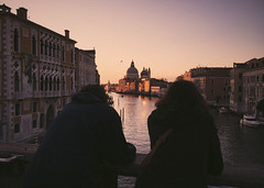 Sunrise in Venice - 5.44am (Lorenzo Scudiero) Tags: city morning travel pink venice friends sea summer sky water youth sunrise magic explore lilac silence vibes 5am advenutre lorenzoscudiero