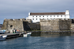The ancient fortification castle Forte de So Brs (Staffan Swede) Tags: fort arkitektur torn fortress fortificationcastle fstning pontadelgada azores azorerna saomiguel fortedesaobras